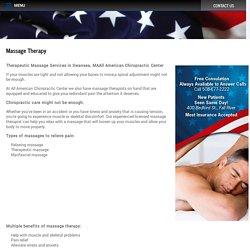 Therapeutic Massage in Swansea, MA