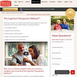 Cognitive Therapeutics Method, Brain Stimulation Activities & Intervention Program