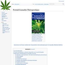Portail:Cannabis Thérapeutique
