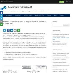 Hexaflex Un outil thérapeutique dynamique : les 6 dimensions de l'ACT