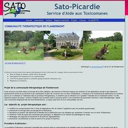 SATO Picardie - Communauté thérapeutique de Flambermont