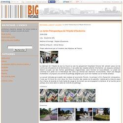 Le Jardin Thérapeutique de l'Hôpital d'Eaubonne - BIG Paysage - L'agence