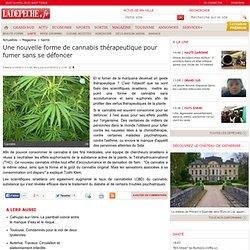 Une nouvelle forme de cannabis thérapeutique pour fumer sans se défoncer - 31/05/2012 - LaDépêche