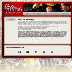 Le jeu, outil thérapeutique - LudiNord - Festival du jeu et de la création de Lille