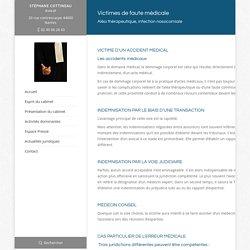 Faute médicale, aléa thérapeutique & infection nosocomiale