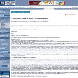 Médecine thérapeutique / Pédiatrie. Volume 7, Numéro 2, 89-94, mars-avril 2004, Revue - La tuberculose en France : les raisons d