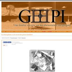 Les théraphims ou le secret des génies familiers - www.geepi.fr