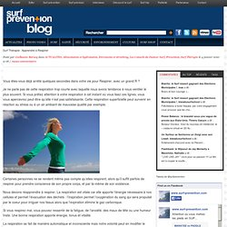 Surf Thérapie : Apprendre à Respirer