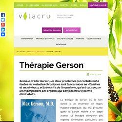 Thérapie Gerson