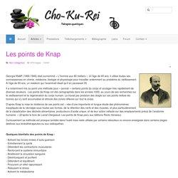 Cho ku rei - thérapies quantiques - Les points de Knap
