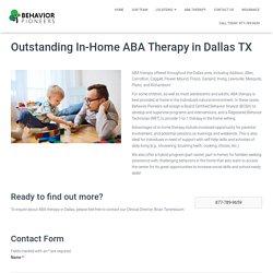 Behavior Pioneers – Most Skilled Autism Treatment Center in Dallas