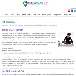 Art Therapy - Health Benefits of Art - Art Exercises