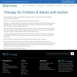 Therapy for Children & Adults with Autism - Try AIT