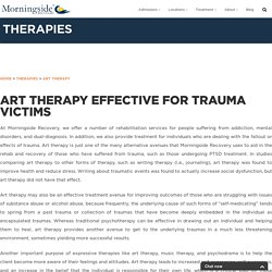 Art Therapy Effective for Trauma Victims