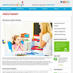 Need Speech Therapist in Vaughan