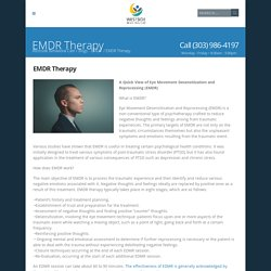 EMDR Therapy - Westside Behavioral Care