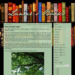 There and back again… « Lanier's Books