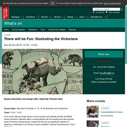 There will be fun:Illustrating the Victorians