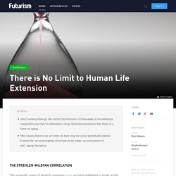 There is No Limit to Human Life Extension