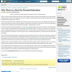 Why There is a Need for Prenatal Education by Emma Tomy