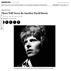 There Will Never Be Another David Bowie
