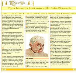 There has never been anyone like Luisa Piccarreta