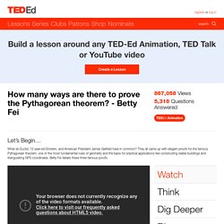 How many ways are there to prove the Pythagorean theorem? -