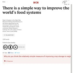 There is a simple way to improve the world's food systems