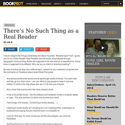 BOOK RIOTThere's No Such Thing as a Real Reader