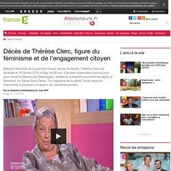 Décès de Thérèse Clerc, figure du féminisme et de l'engagement citoyen