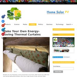 Cheap Thermal Curtains From Used Materials