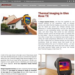 Thermal Imaging in Glen Rose TX