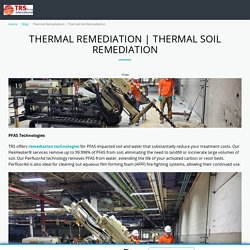 Thermal Soil Remediation - thermalrs