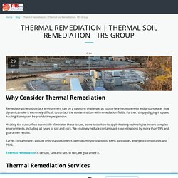 Thermal Soil Remediation - TRS Group - thermalrs