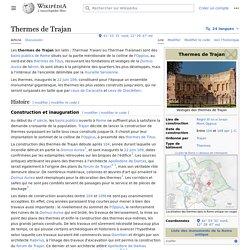 Thermes de Trajan