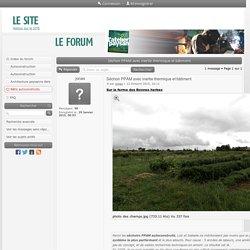 Forum L'Atelier Paysan - Séchoir PPAM avec inertie thermique et bâtiment : Bâtis autoconstruits
