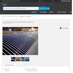 Kit solaire thermique / pour l'intégration de toiture - ENERCOVER BASE - ONDULIT ITALIANA