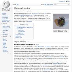 Thermochromism