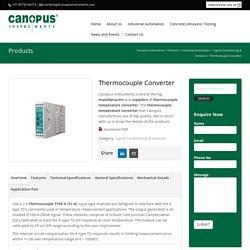 Thermocouple Converter (SM 13)