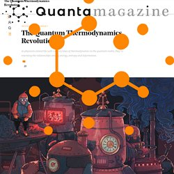 The Quantum Thermodynamics Revolution