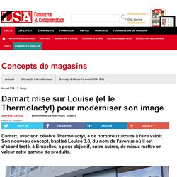 Damart mise sur Louise (et le Thermolactyl)... - Textile, habillement