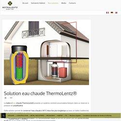 Solutions Eau chaude ThermoLentz® - sotralentz HABITAT