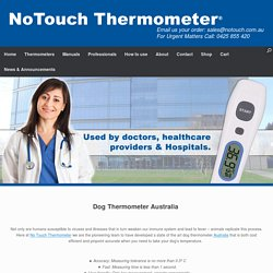 Special Dog Thermometer Australia