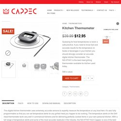 Best Meat Thermometer for Grilling