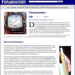 Types of Thermometers Compared
