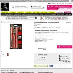 Thermomètre Digital électronique Stylo - Travail du Chocolat