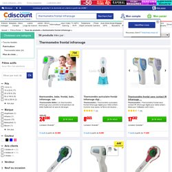 Thermometre frontal infrarouge - Achat / Vente Thermometre frontal infrarouge pas cher - Cadeaux de Noël Cdiscount