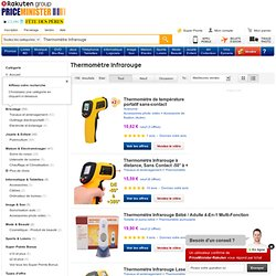 Acheter Thermomètre Infrarouge pas cher ou d'occasion sur PriceMinister