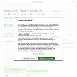 Vorwerk Thermomix vs Lidl : la justice française va se prononcer