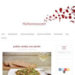 Judías verdes con jamón - Thermomix - MisThermorecetas- top